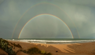 Myalup Beach Rainbow